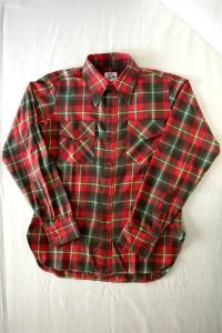 ニードルズのフランネルシャツ<br>12,600円<br>(ネペンテス 渋谷)