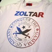 ZoltarのTシャツ(編集部スタッフ私物)