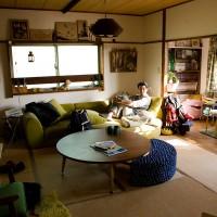 岡部氏の自宅にてインタビュー。<br>終始リラックスした雰囲気でした。