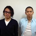 左:ディレクター橋本哲也氏<br>右:アートディレクター丸若裕俊氏