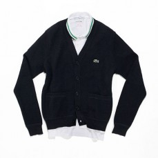 Lacoste exclusively for Jeffrey<br>polo and cardigan<br>Photo: Steven Torres