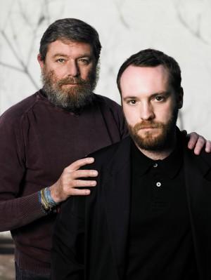 カルロ・リヴェッティ(左)とウォレス・フォールズ(右)<br>Photo courtesy of C.P. Company