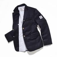 モンクレール ガム ブルーの<br>パフジャケット