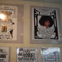 """田中「レセプションは青山のイデーショップ跡地で開催。ジョー・コンゾの写真に加え、""""Born in the Bronx""""の著者としても知られるヒップホップ界の生き字引、ヨハン・クーゲルバーグのオールドフライヤーコレクションも展示しました。」"""