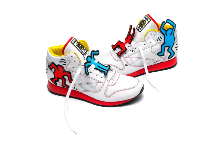 Reebok CLASSIC×Keith HaringのWORKOUT PLUS KEITH HARING 12,600円