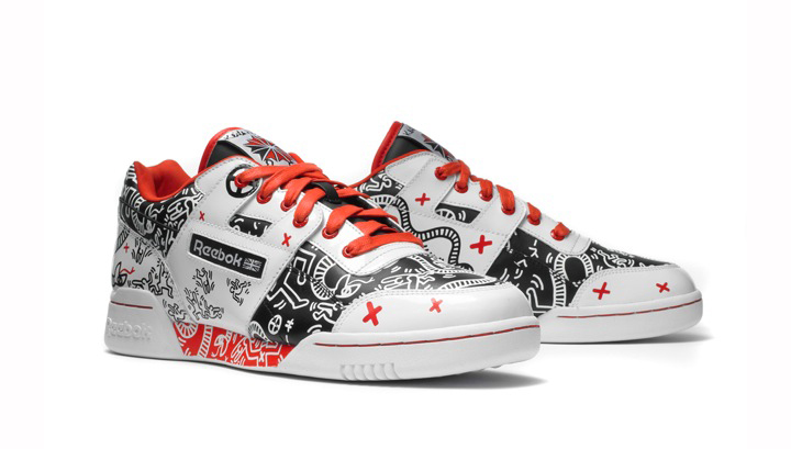 Reebok CLASSIC×Keith HaringのCL LEATHER MID LUX KEITH HARING 17,850円