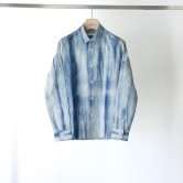 Pure-Indigo-Tie-dye-Shirt(Light-Indigo)