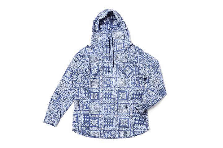 nonnativeとRein Spoonerのコラボフードシャツ 30,240円