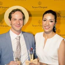セオドール・ミラー&AHN MIKA 夫妻