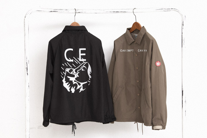 C.E×BEAUTY&YOUTH UNITED ARROWSのコーチジャケット 各18,900円