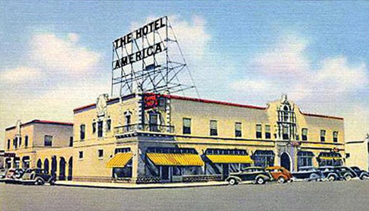 THE HOTEL AMERICA