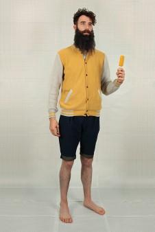 teddy jaune