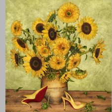 SS14 Louboutin Look Books Van Gogh _ Photographer Peter Lippman