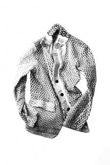 アフガンニードルパンチジャケット