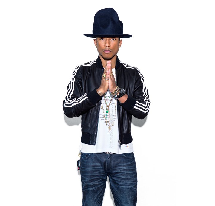Pharrell Williams by Shadi Perez