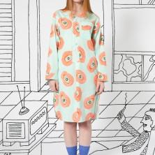 Pajama Gown in Mint Biba