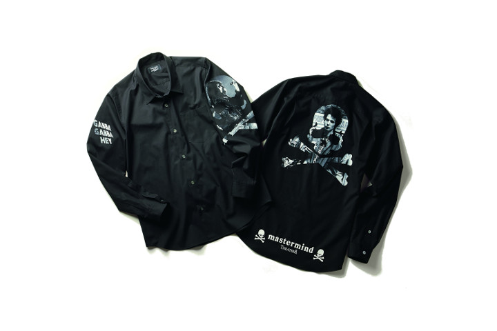 シャツ各34,000円 (左:ジョーイ・ラモーン 右:シド・ヴィシャス)