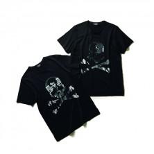 Tシャツ各15,000円 + 税 (左:シド・ヴィシャス 右:ジョーイ・ラモーン)