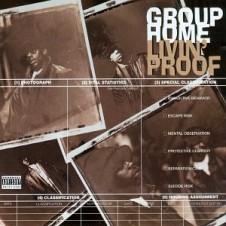 Group Home『Livin' Proof』 94年リリースのヒップホップ史上に残る大クラシック「Supa Star」から1年あまりを経て、DJプレミア全面プロデュースにより満を持してリリースされた1枚。ミニマムなワンループのトラックで中毒者を続出したリード曲「Livin' Proof」を筆頭に、捨て曲無しの大名盤。