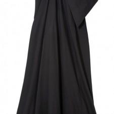 SELFRIDGES EXCLUSIVE Rick Owens folded front maxi-dress ・・スコ775
