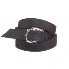 HB033 Strap Cuff Black x SS