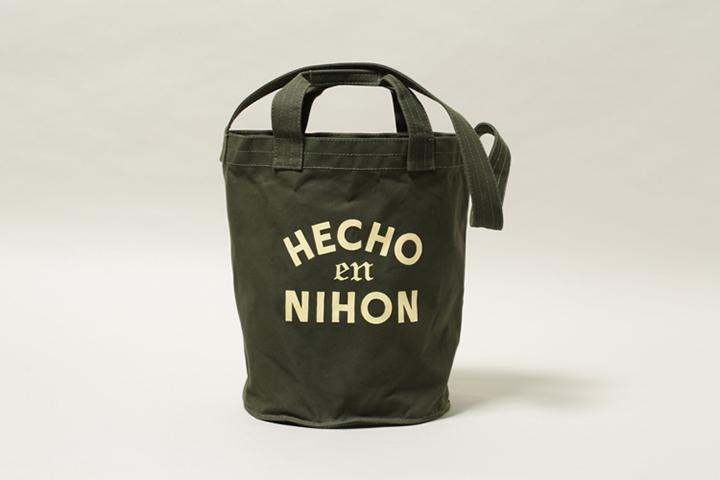 """OAXACA"" Bucket Tote Bag 22,000円+税"