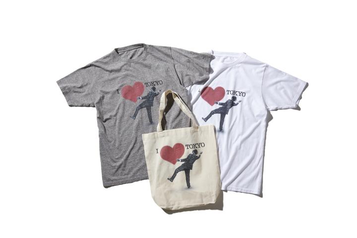 SOPH. × NICK WALKERのTシャツ&トートバッグ 8,000円 + 税