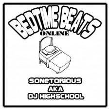 DJ Highschool a.k.a. SONETORIOUS『Bed Time Beats Online』 CD-Rでのストリート・リリースが4作を数えるDJ Highschoolのホームワークにして、インディ・ロックほかのオルタナティヴなサンプリングネタを活かした人気ビーツ集のオンライン版。