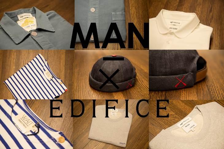 EDIFICE × MAN
