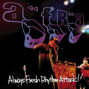 AFRA『ALWAYS FRESH RHYTHM ATTACK』 テレビCMへの出演でお茶の間を騒がせたワールドクラスのヒューマンビートボクサー、AFRAが2003年にリリースした、スチャダラパー全面プロデュースによる日本初のヒューマンビートボックスアルバム。スチャダラパーはもちろん、ロボ宙や笹沼位吉などおなじみのメンツも参加。