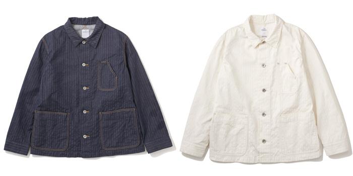 Stripe Denim Coverall -34,000円+税