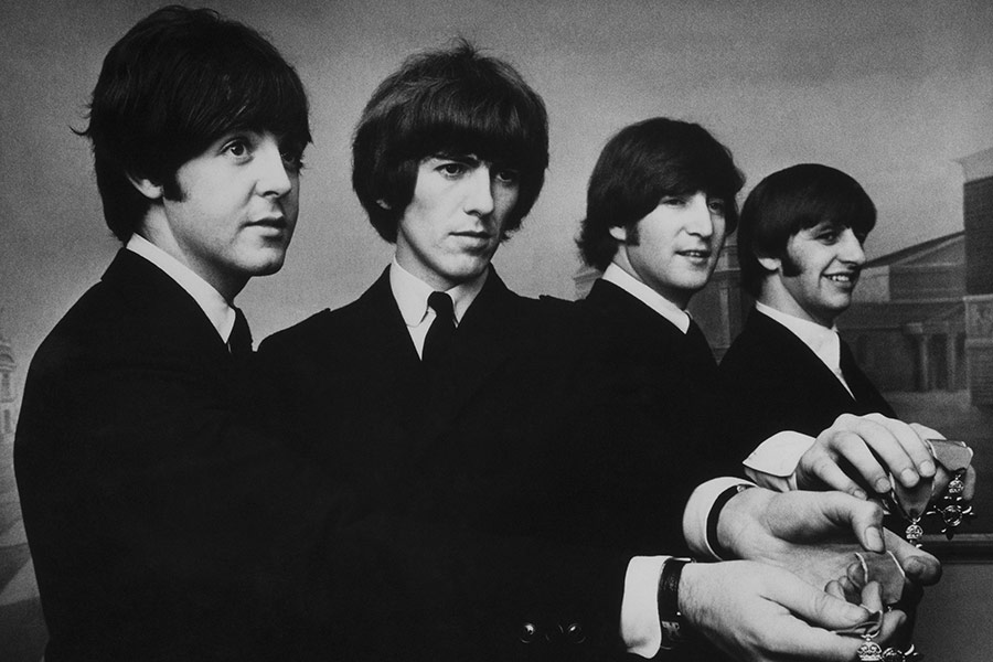 2015TheBeatles_1968_Getty107425303170315