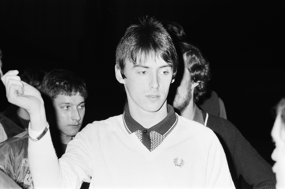 Paul Weller of The Jam 1982 Brighton, Last Concert © Newscom / アフロ