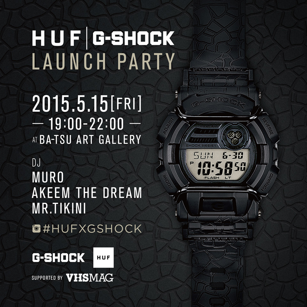 HUF_G-SHOCK_LAUNCHPARTY_TOKYO