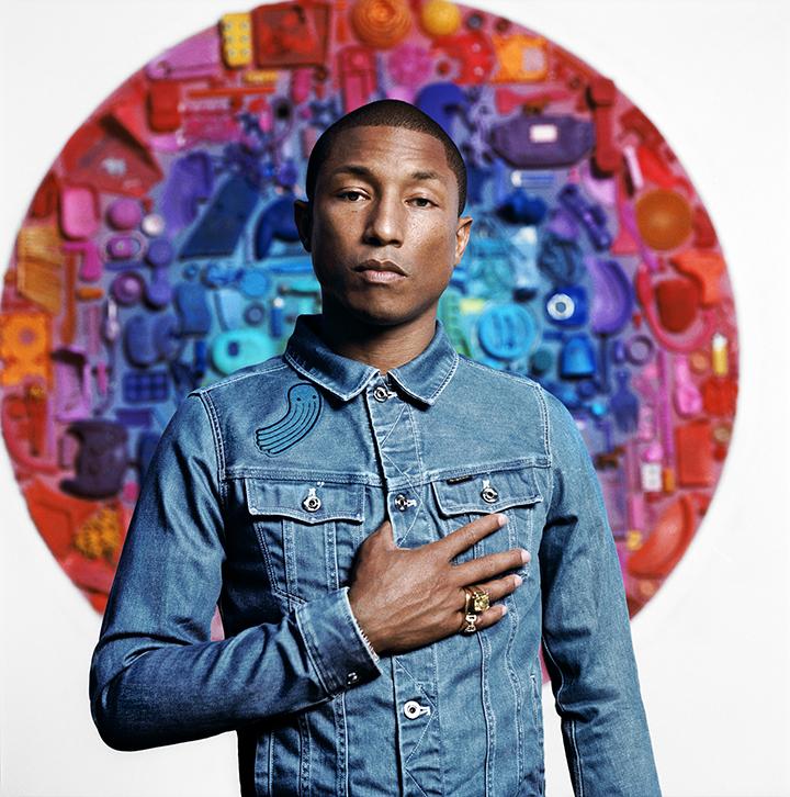Raw For the oceans 15-2 main, Pharrell Williams
