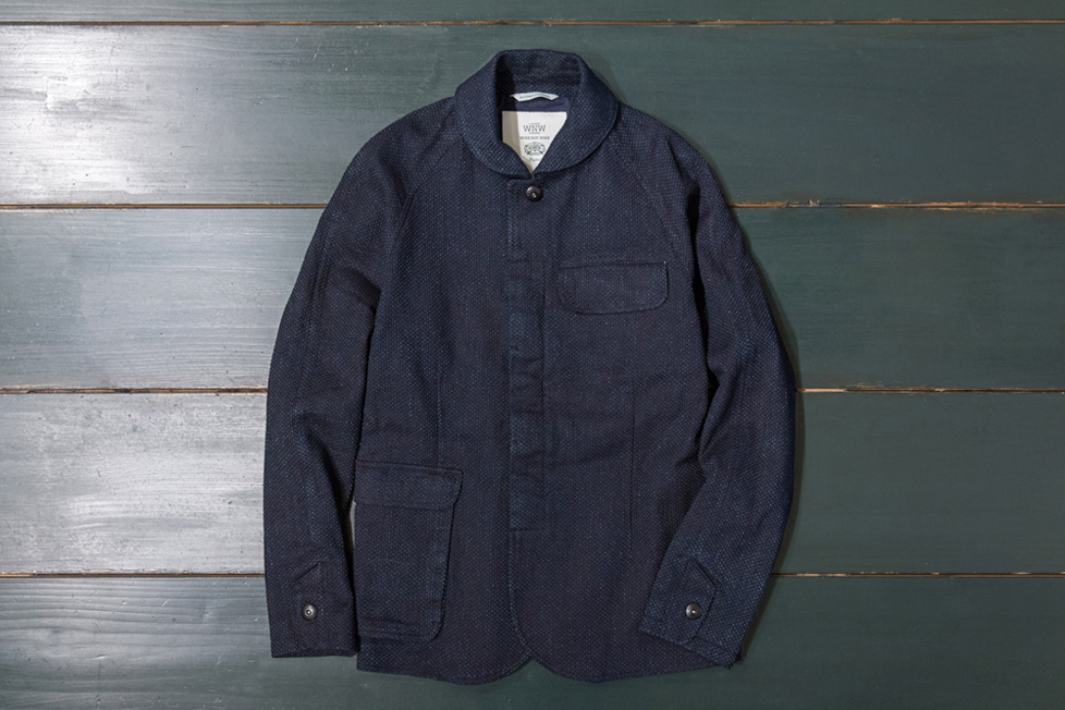 SASHIKO POACHER JACKET #1 42,000円 + 税