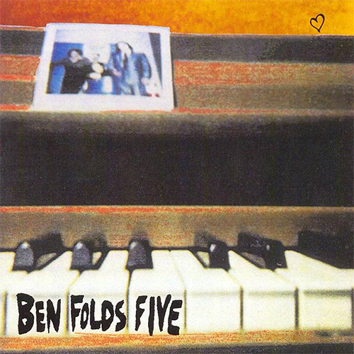 Ben Folds Five『Ben Folds Five』 ギターレスのピアノ・トリオによる1995年作のオルタナティヴなパワーポップ名作。全12曲には、ソウルやファンク、クラシックやジャズなど、様々な音楽要素が溶かし込まれている。