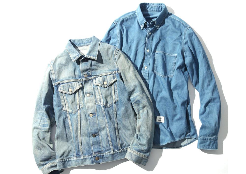 ジャケット 28,000円 + 税、シャツ 18,000円 + 税
