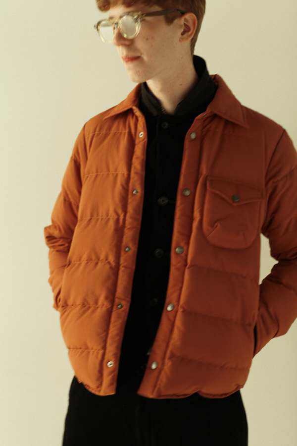 MarmotのKATO` Loger Down Shirt 42,000円→オンラインストアで購入する