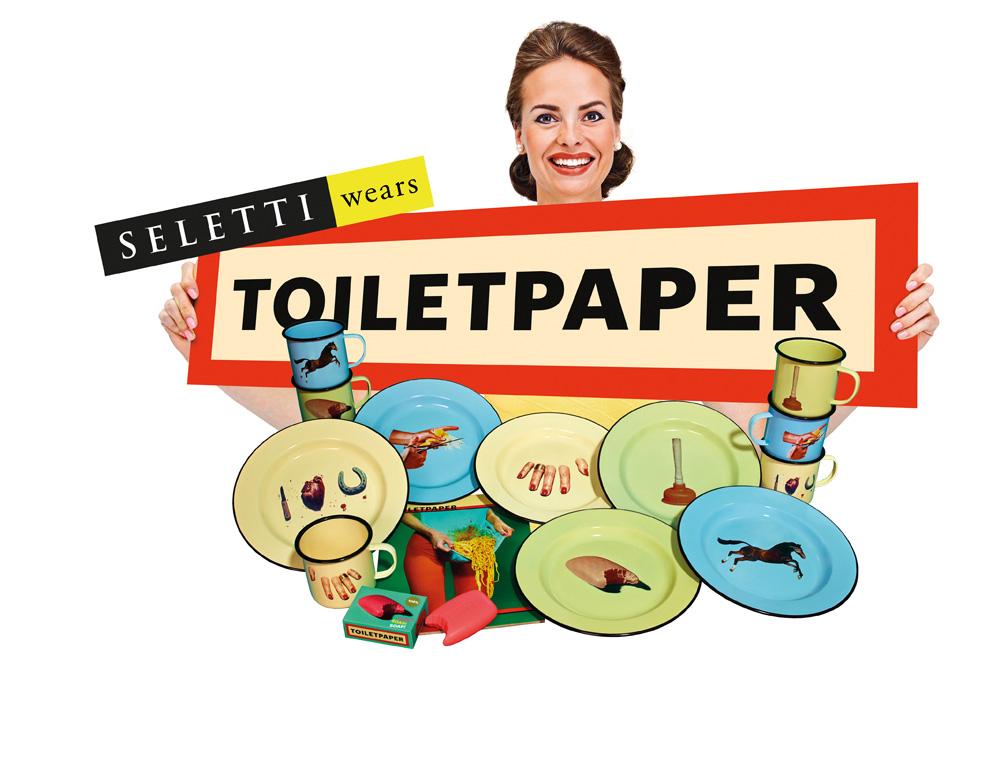 SELETTI逕サ蜒十Immagine Seletti wears Toiletpaper