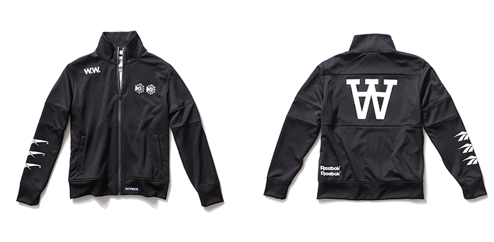 WW PES Special Knit Track Top 15,000円+税