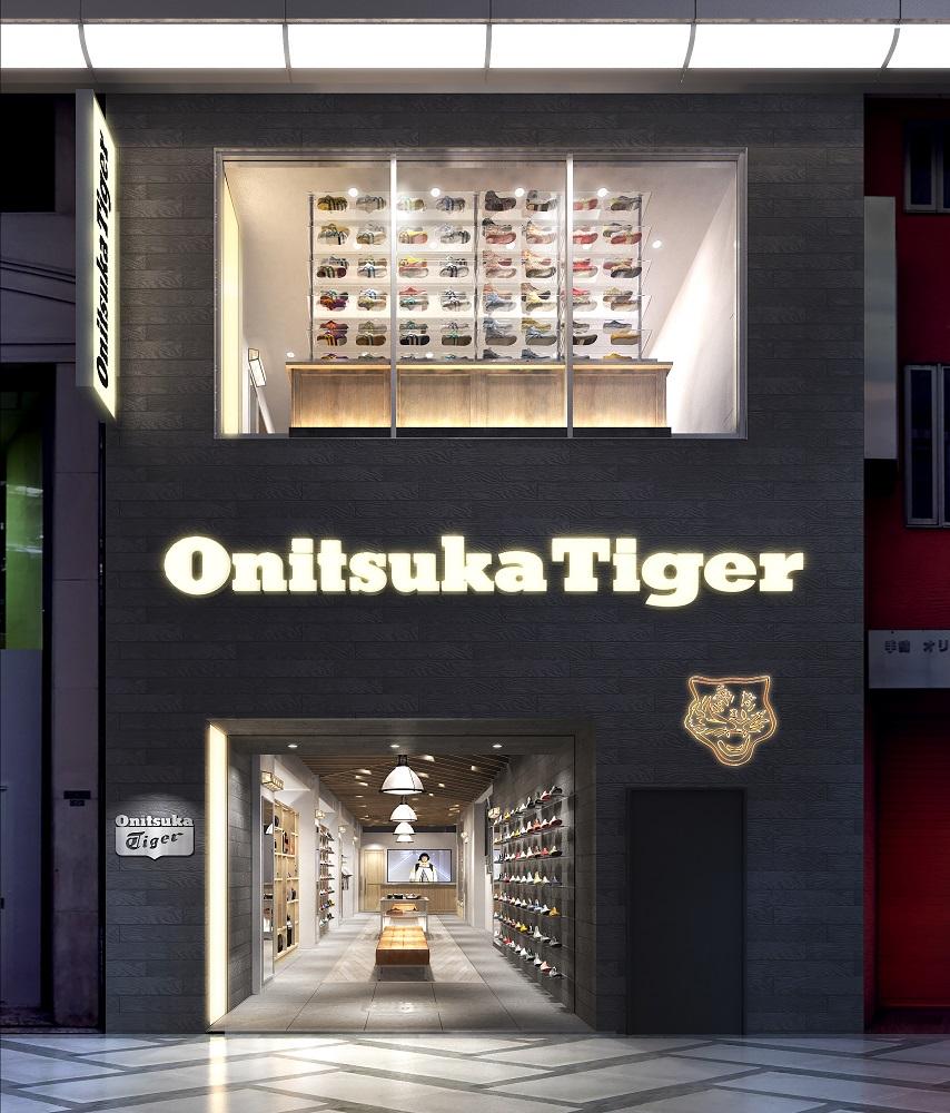 Onitsuka Tiger Shinsaibashi繝輔ぃ繧オ繝シ繝医y_image