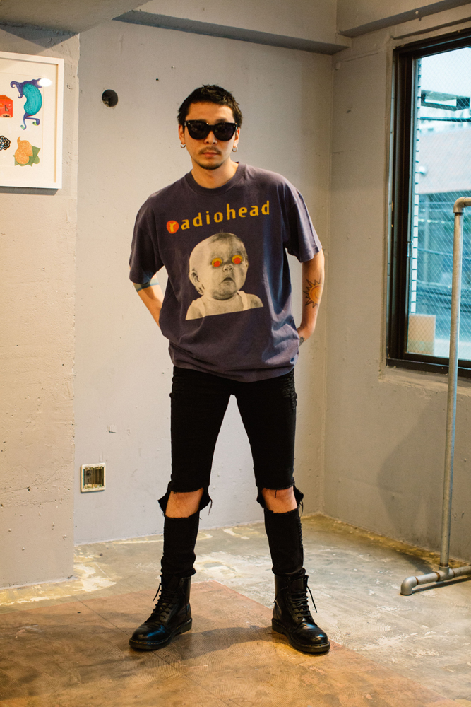今週のモデルはブログでもおなじみ、田中さん。