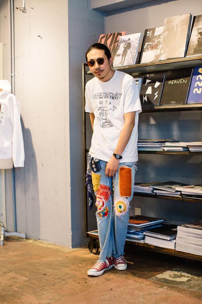 今回のモデルはもう一人のニューカマー、松村くん。