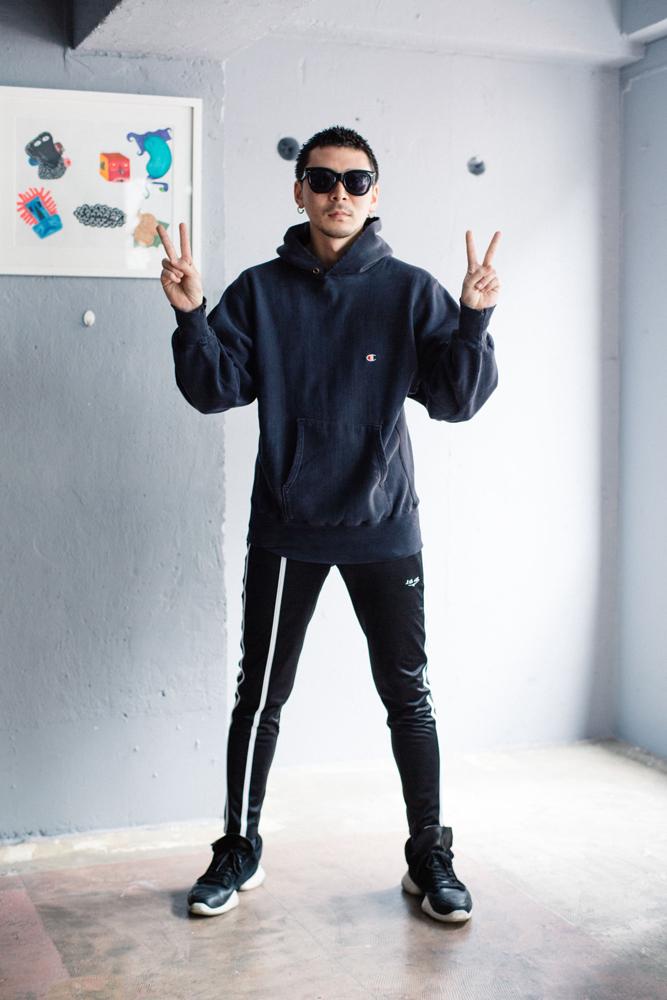 今週のモデルは待ってました!の田中さん。