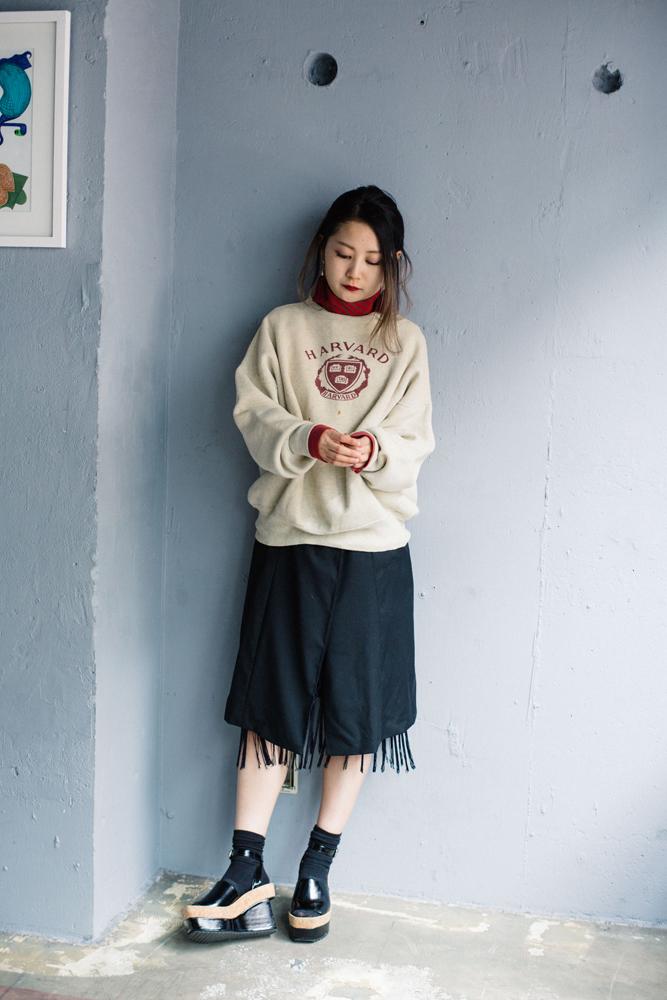 今週のモデルは新世代の原宿のアイドル、コニーちゃん。