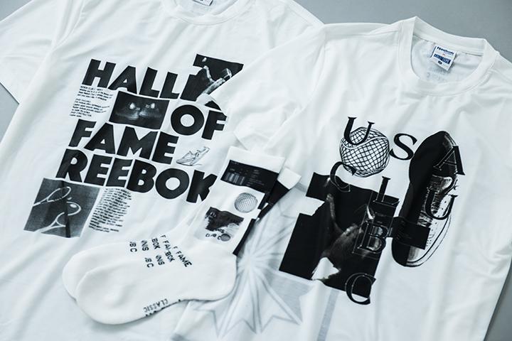 Tシャツ 各4,500円+税、ソックス 2,500円+税