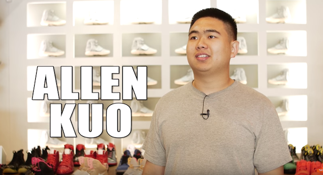 Allen Kuo  100 Pairs of Yeezys Before Release  Not Into Sneakers   YouTube