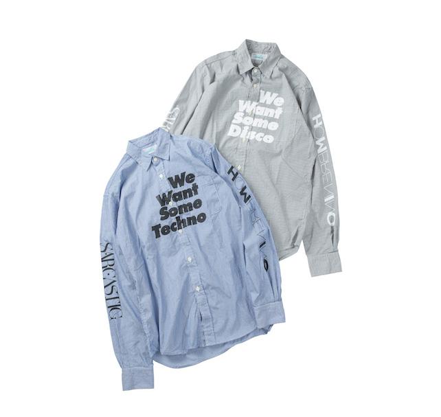 shirt  各20,000円 + 税
