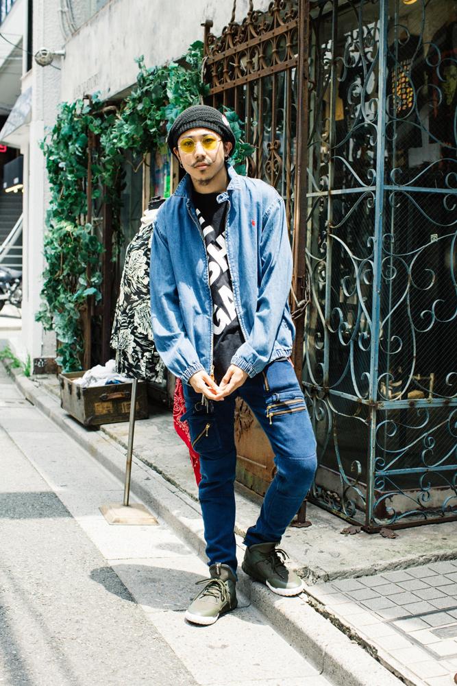 今週のモデルは松村さん。